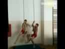 Тренировки юных гимнастов
