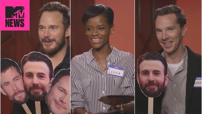 👊 'Avengers: Infinity War' Cast Plays 'Know Your Chris' 😂 | MTV News