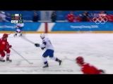 Хоккей. Мужчины. Четвертьфинал. ОА из России-Норвегия. Лучшие моменты. #Россия