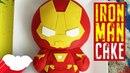 Svk/lakomkavk Iron Man Cake Avengers Infinity War Koalipops How To