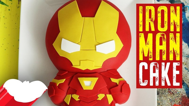 Lakomkavk Iron Man Cake Avengers Infinity War Koalipops How To