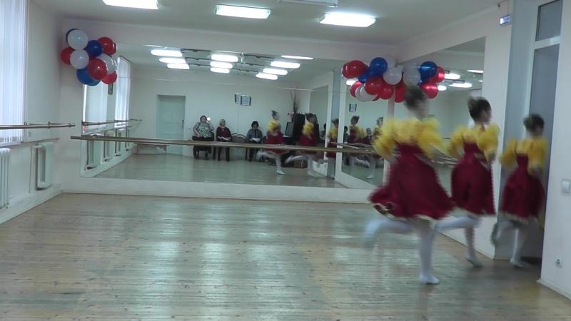 Танец Перепляс ( 3 место )