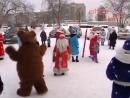 Парад Дедов Морозов прошёл в посёлке Буланаш