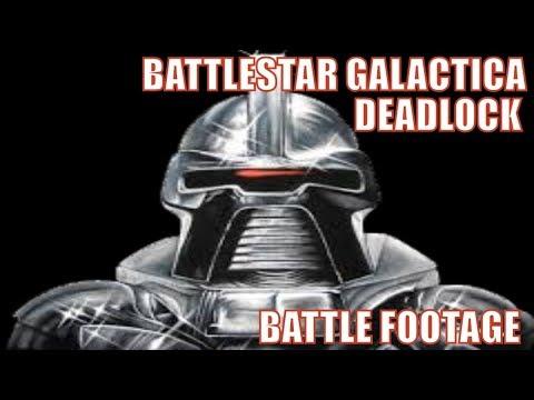 Battlestar Galactica Deadlock Battle movie footage - Campaign Gameplay