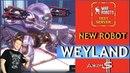 War Robots Weyland Робот который лечит