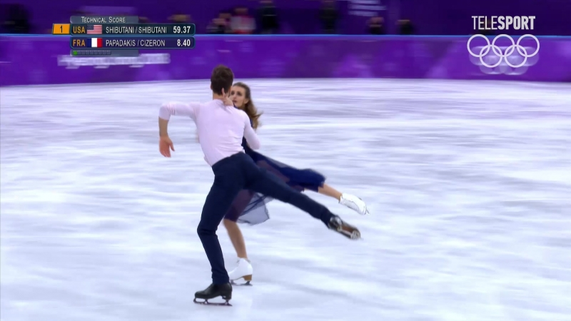 Фигурное катание. Танцы на льду. Произвольный танец. (часть 4)