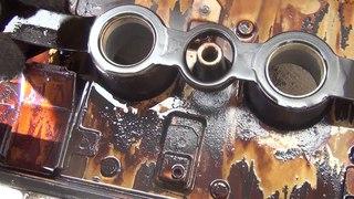 замена прокладки клапанной крышки toyota Allion, premio 240