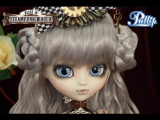 Кукла пуллип Алиса Стимпанк - Pullip Mad Hatter in Steampunk World Alice in Wonderland