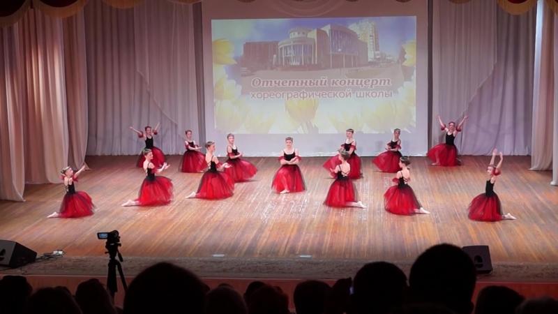 Лесные нимфы. Отчетный концерт хореографической школы, 2018г.