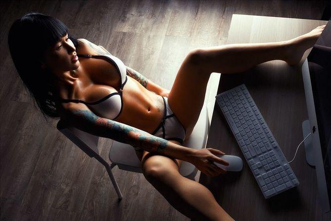 Виртуальный секс может вызвать зависимость