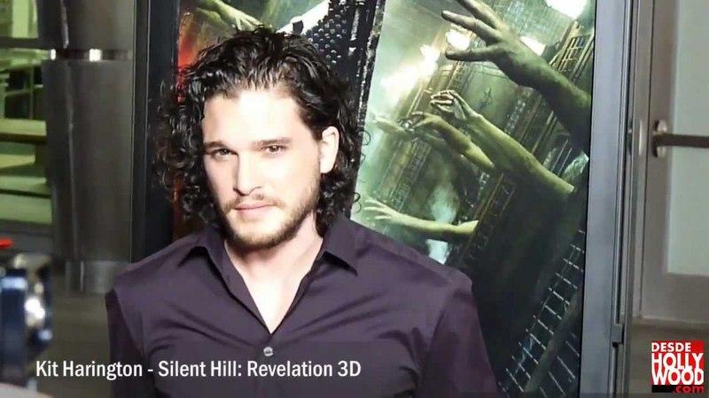 Kit Harington - Silent Hill: Revelation Premiere Red Carpet/Alfombra Roja | 2012