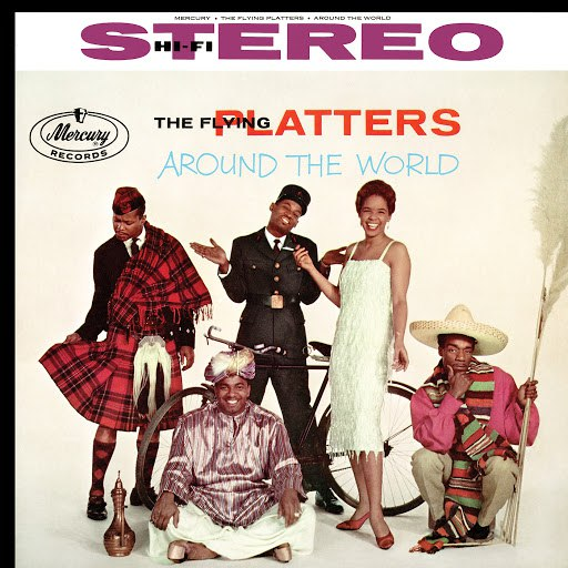 The Platters альбом The Flying Platters Around The World