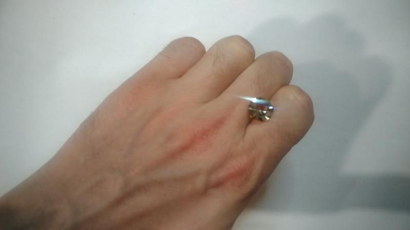 Орегонский солнечный камень. Огранка Алексея Комарова. Не на продажу. 4 карата. 10.7/7.1 мм. Другие работы по хэштегу gem_cut