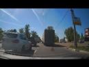 14ч05м34с газель между фурами на выезд из н.новгорода