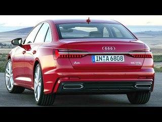 2019  Audi A6 55 TFSI Quattro S line - First Look, Elegant Full-Size Sedan with All-Wheel Steering