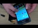 Philips Xenium W6610 как разобрать и замена дисплейного модуля стекла дисплея тачскрина