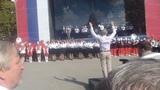 Валерий Халилов в Севастополе дирижирует Гимн России (27.09.2015)