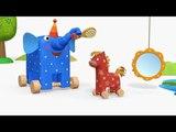 Деревяшки - Утро - серия 27 - развивающие мультики для малышей
