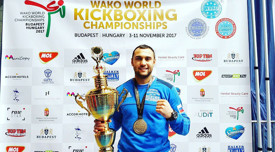 WORLD champion waco kickboxing
