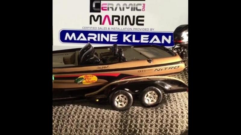 Мощная защита Ceramic Pro Marine для водного транспорта