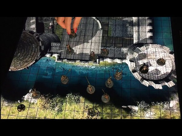Fortress - animated action scenes pack for role playing games