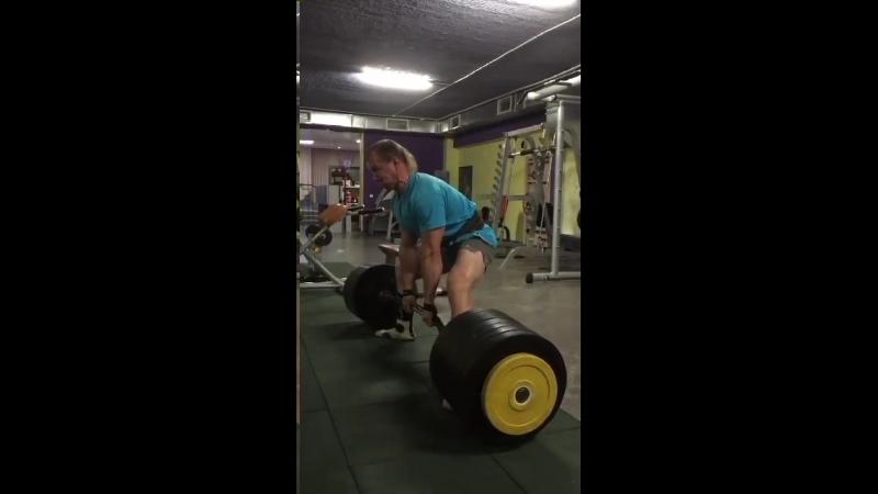 Герман Щербинин (Беларусь), становая тяга без экипировки - 300 кг, с.в. 91 кг 💪🏋🇧🇾