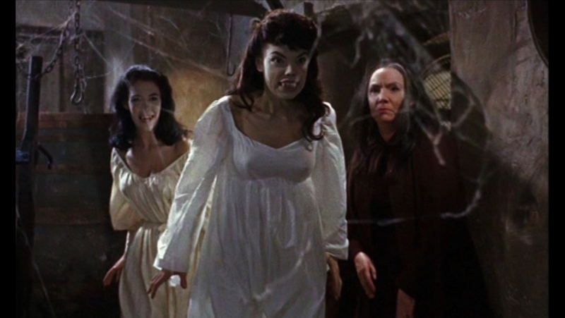 The Brides of Dracula 1960 / Невесты Дракулы HD 720p (HammerFilm)