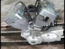 Проверка контрактного двигателя Yamaha XV250 Virago (3DM) перед отправкой клиенту |