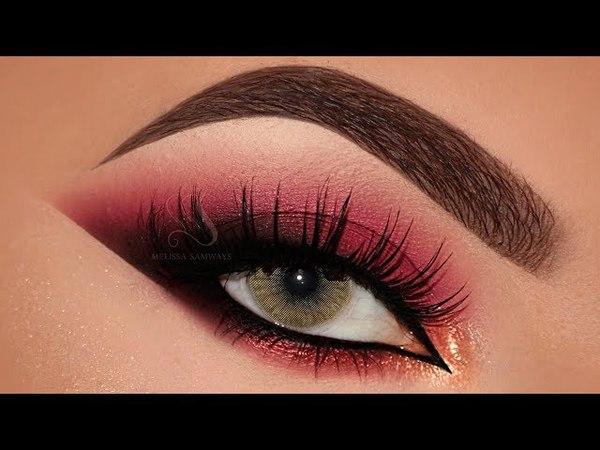 Maquiagem na Diagonal Vinho Batom Vermelho   Melissa Samways BR