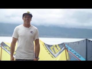 Naish Slash 2018 - презентация от Кевина Лангерии (Kevin Langeree) - прорайдера Naish Kiteboarding