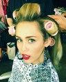 "Ellen von Unwerth on Instagram: ""Getting ready for the big night @mileycyrus ❤️⭐️❤️? @conversexmiley"""