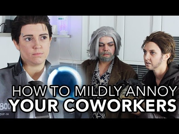 Detroit: Become Human - How To Mildly Annoy Your Coworkers (Jenna Marbles Parody)