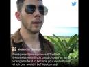 Прямой эфир LIVE Ник Джонас Джуманджи: Зов джунглей 2017