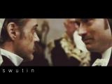 Sherlock Holmes and John Watson vine swutin