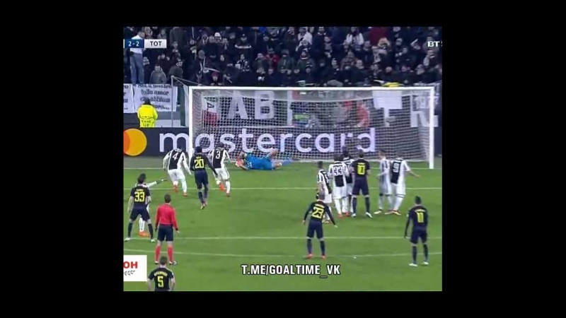 JUVENTUS 2 2 TOTTENHAM MATCH IN 60 SECOND МАТЧ ЗА 60 СЕКУНД SHORT SPORT Highlights