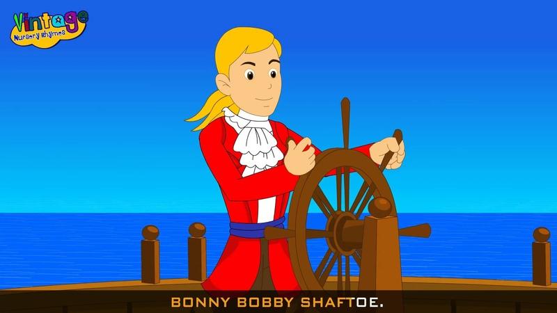 Bobby Shafto's Gone To Sea | English Nursery Rhymes
