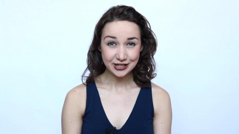 Актёрская визитка Мелиссы Занемонской (2018)