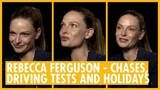 Rebecca Ferguson Puts Cruise in His Place . Mission Impossible Fallout Interview