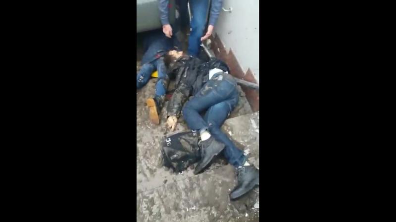 Автобус в Москве заехал в подземный переход 21