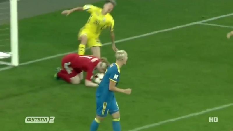 Жіноча збірна у відборі до ЧС-2019   Україна 1:0 Швеція   Огляд матчу