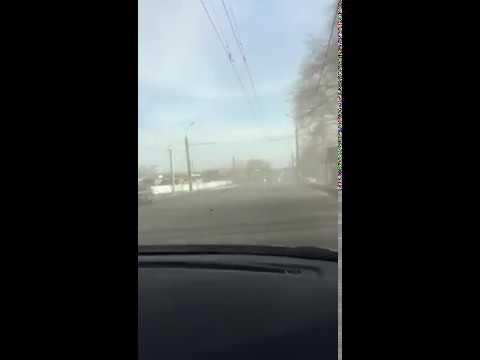 В Стерлитамаке обрушился корпус завода Синтез Каучук