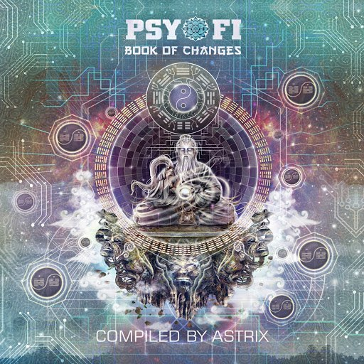 Astrix альбом Psy-Fi Book of Changes (Compiled by Astrix)