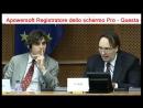 Gianni Papalini. Intervento avv Marco Mori al Parlamento Europeo