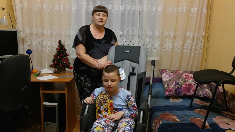 Владик Арапов. Мышечная дистрофия Дюшена-Беккера