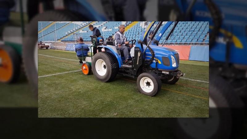 Компания Леготерм, Киев, система кабельного обогрева футбольного поля