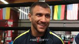 LOMACHENKO DOESN'T CARE ABOUT FAME