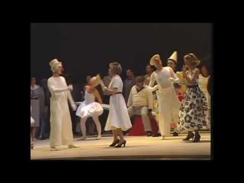 Amarilli Nizza as Nedda in Leoncavallo's Pagliacci, Palermo