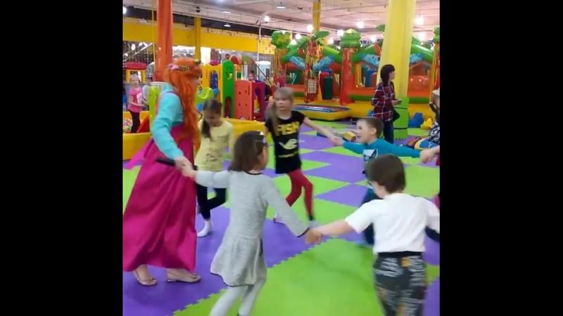 Русские народные хороводные игры понравились и детям и взрослым!