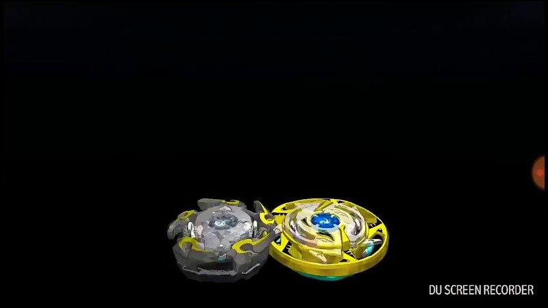 COGNITE C3 (Когнайт К3) VS GARUDA G3 (Гаруда Г3) в игре на телефоне beyblade burst