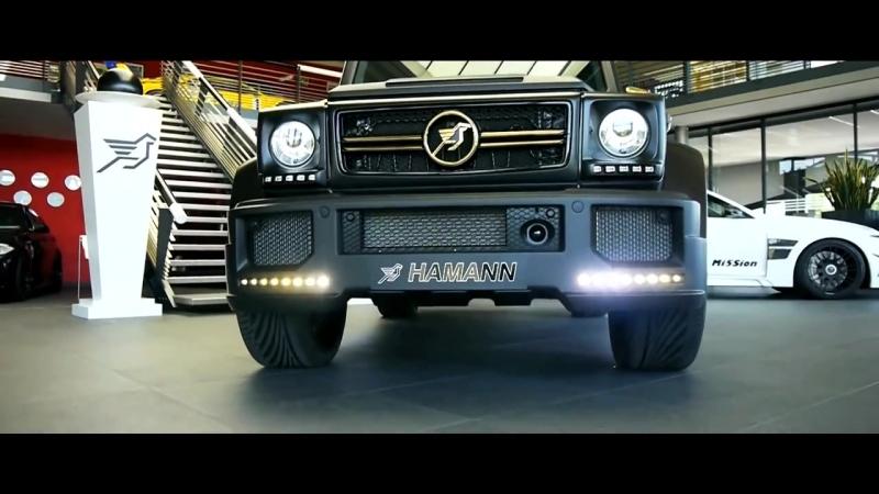 Mercedes Benz AMG G63. Hamann